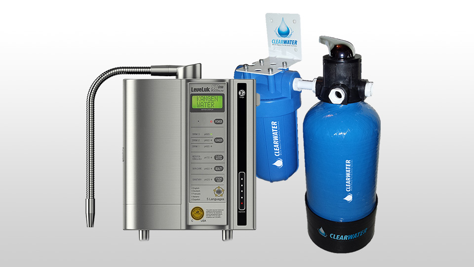 Kangen plus whole house water filter system